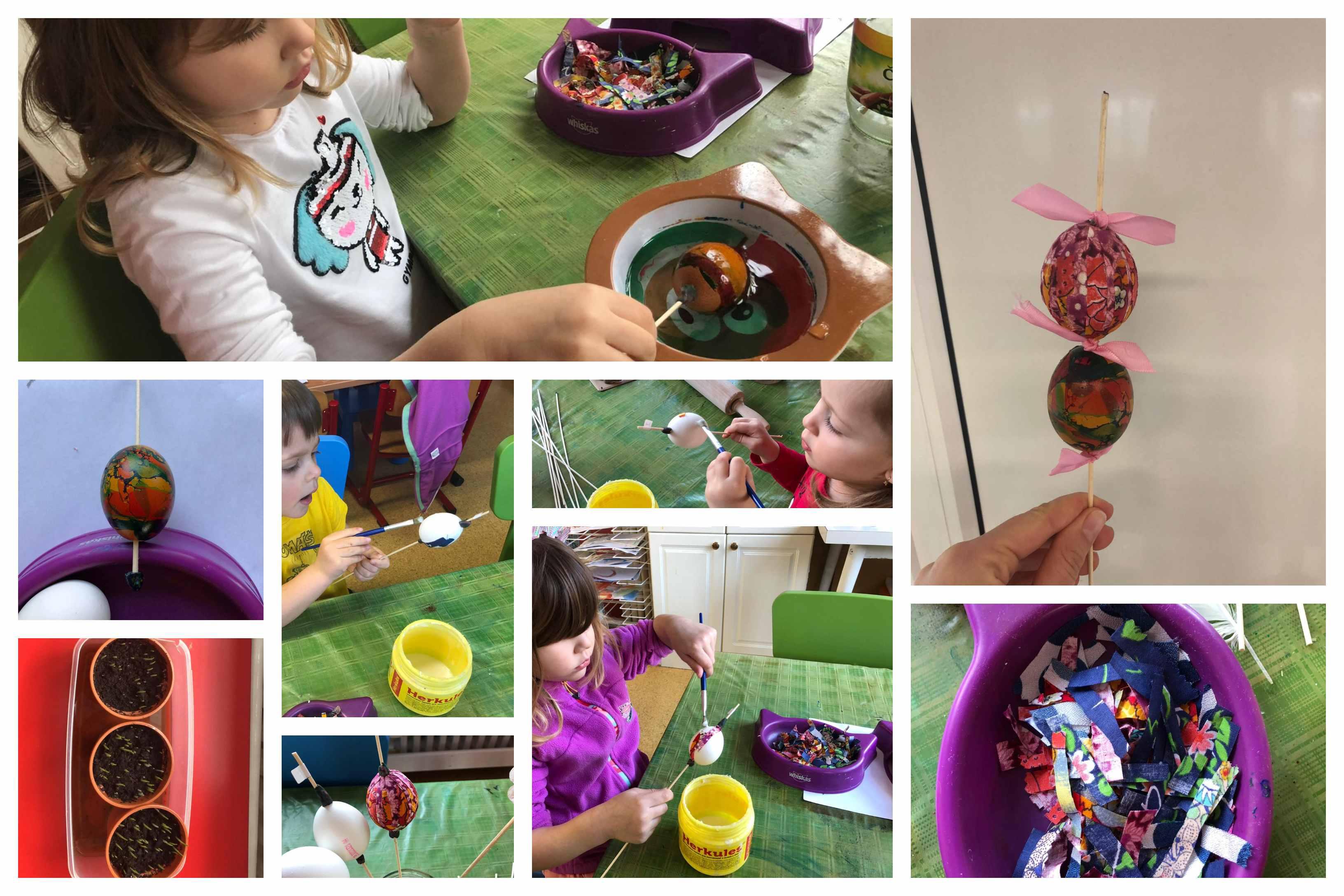 Barvíme vajíčka na Velikonoce
